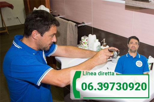 interventi lavabo bagno Roma