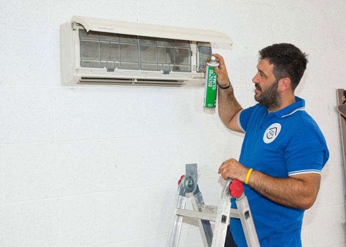 manutenzione e pulizia filtri condizionatori