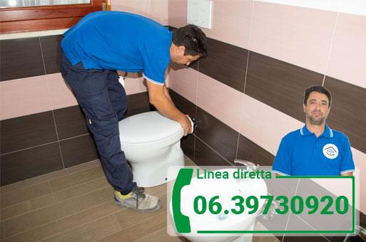 interventi water Roma