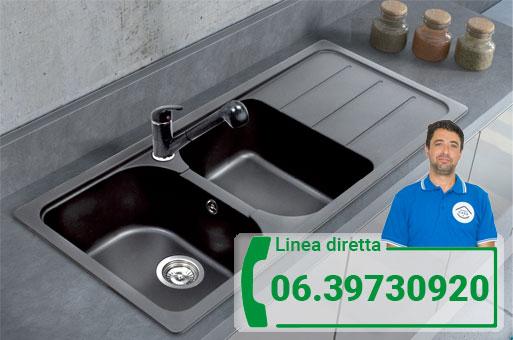 interventi lavabo cucina Roma