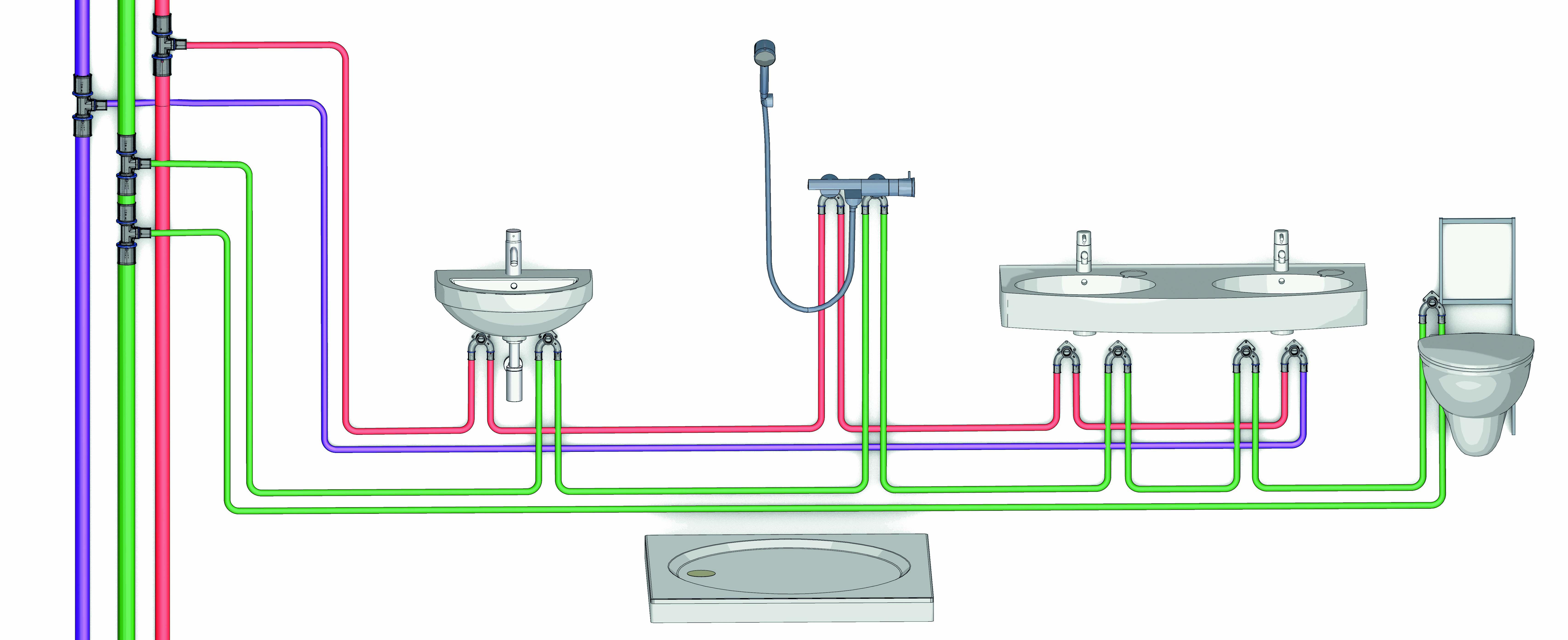 Tubazioni acqua prontocasa for Tubi del serbatoio dell acqua calda