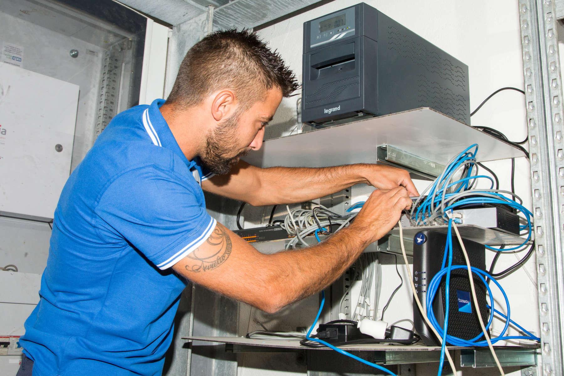 installazione modem internet