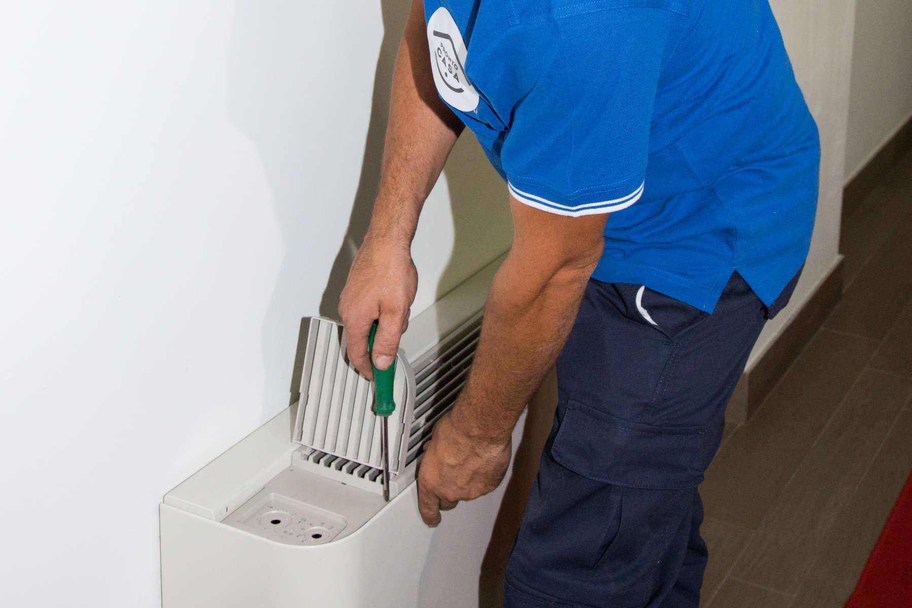 riparazione ventilconvettore
