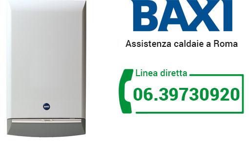 assistenza BAXI Roma