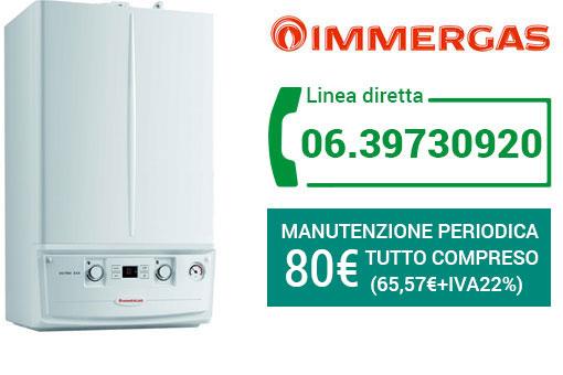 manutenzione IMMERGAS Roma