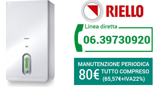 manutenzione RIELLO Roma