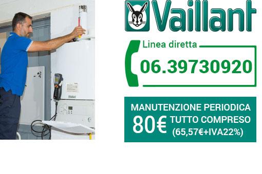 Manutenzione VAILLANT Roma
