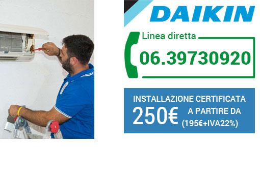 installazione climatizzatori Daikin Roma