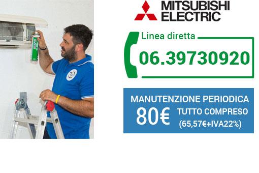 manutenzione climatizzatori Mitsubishi Roma