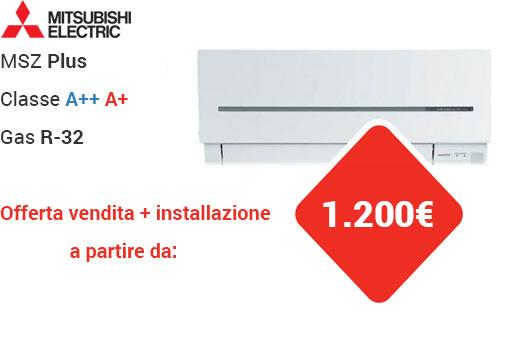 offerte condizionatori Mitsubishi