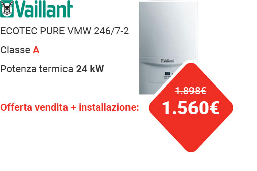 Offerta VAILLANT ECOTEC PURE VMW 246/7-2