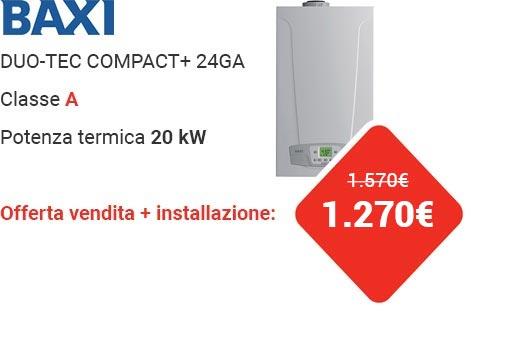Offerta BAXI DUO-TEC COMPACT+ 24GA
