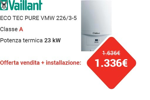 Offerta Vaillant ECO TEC PURE VMW 226/3-5