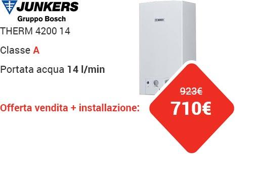 Offerta JUNKERS THERM 4200 14lt