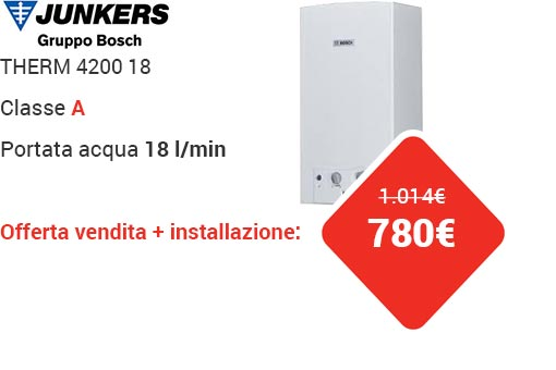 Offerta JUNKERS THERM 4200 18lt