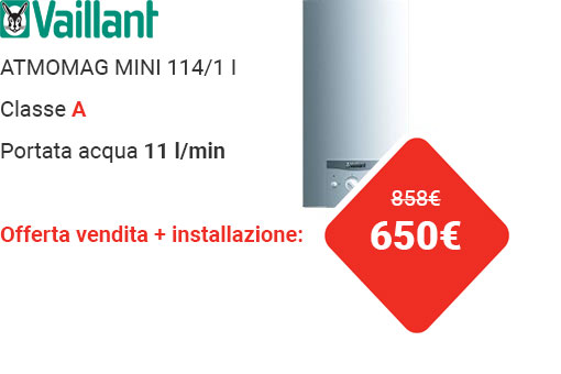 Offerta VAILLANT ATMOMAG MINI 11 XI