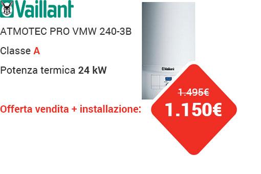 Offerta VAILLANT ATMOTEC PLUS VMW 240-3B