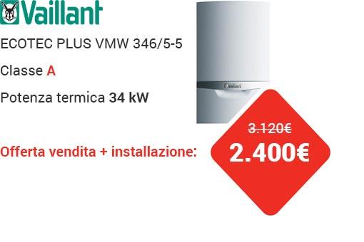 Offerta VAILLANT ECOTEC PLUS VMW 346/5-5