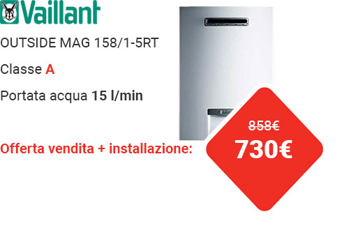 Offerta VAILLANT OUTSIDE MAG 158/1-5RT