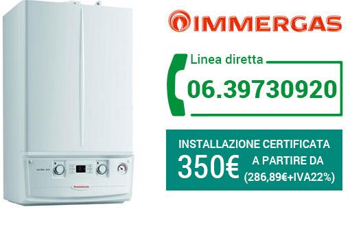 installazione IMMERGAS Roma