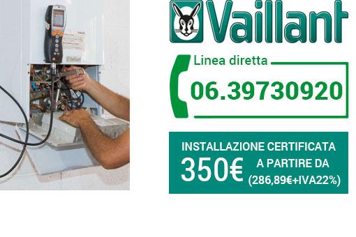Installazione Vaillant Roma