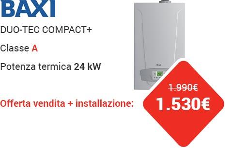 Offerta Baxi DUO-TEC COMPACT+