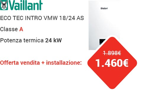 Offerta VAILLANT ECOTEC INTRO VMW 18/24 AS